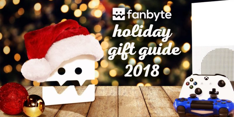 fanbyte holiday gift guide 2018