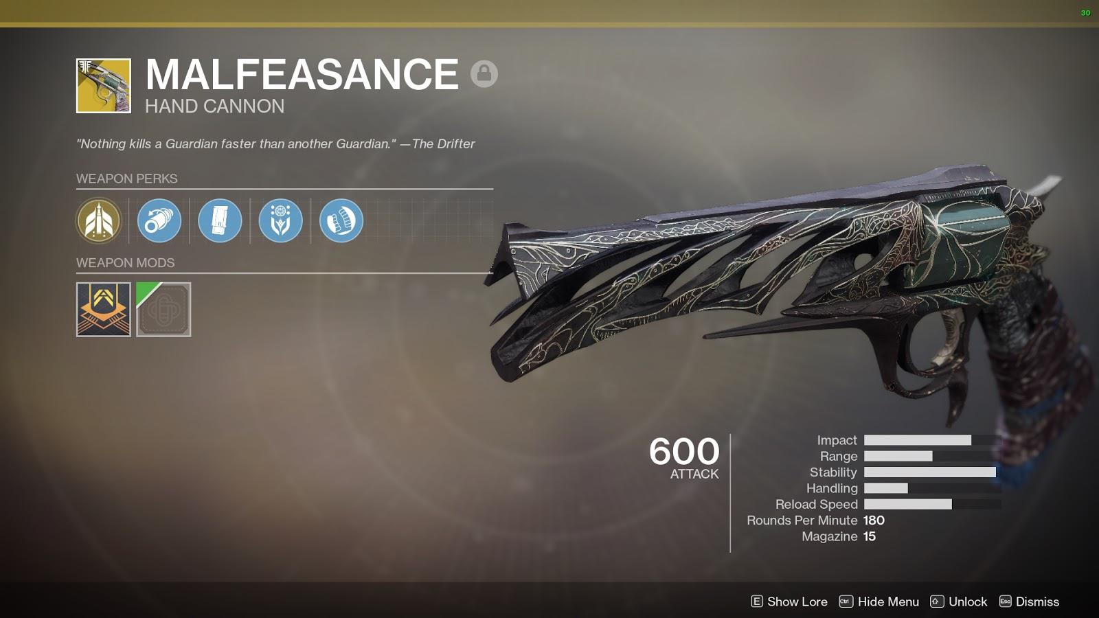 Exotic Hand Cannon