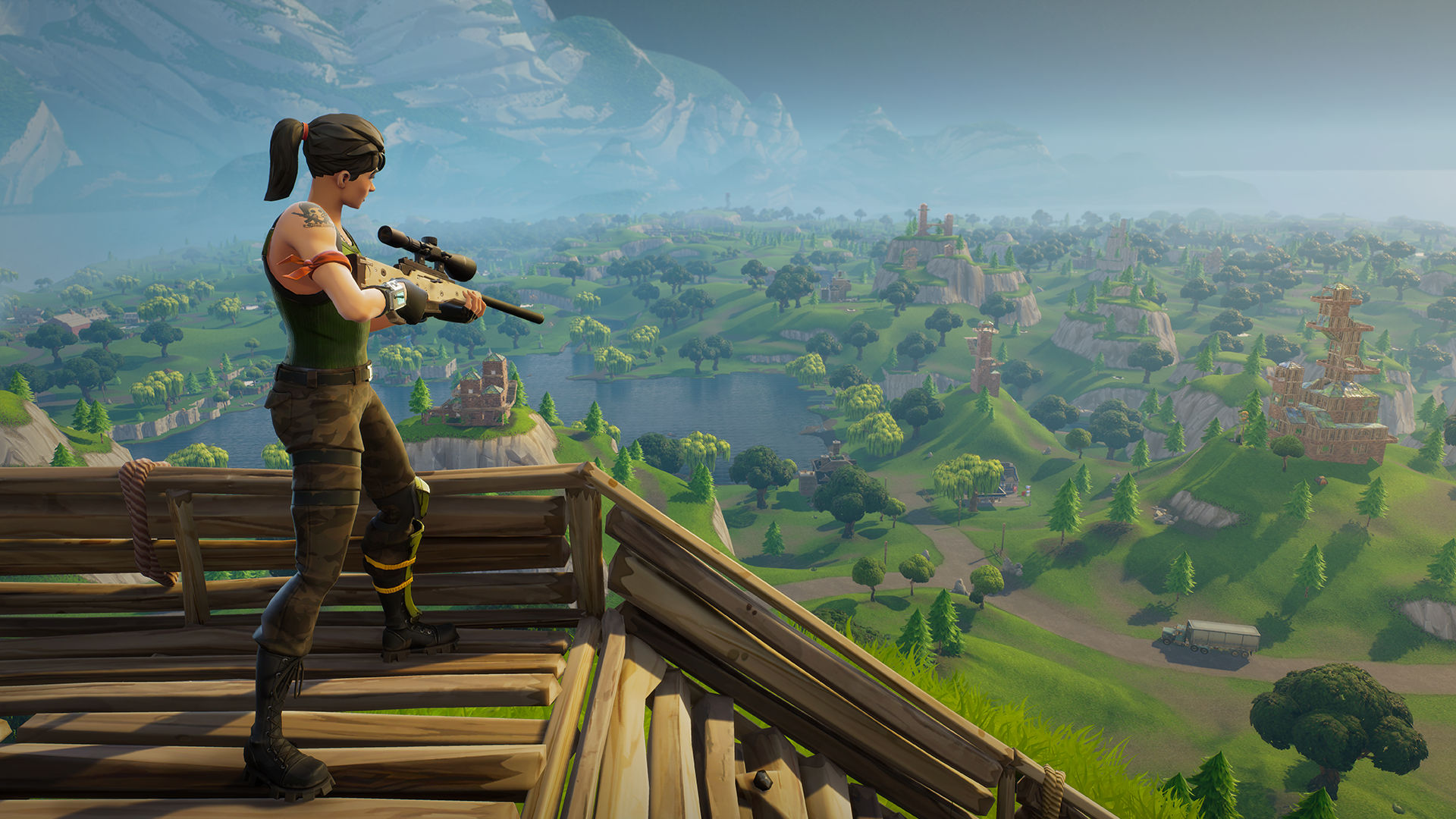 Photo of Fortnite Building Guide – How to Make a Durable Sniper Tower