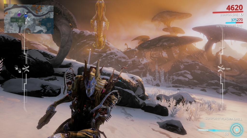 Orb Vallis Warframe Fortuna