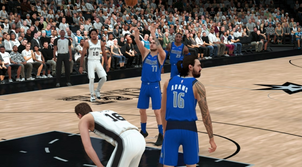 luke free throw nba 2k19