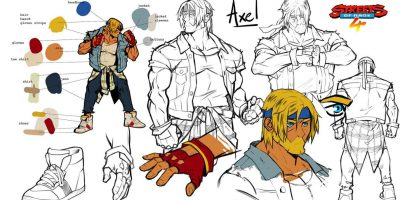 Streets of Rage 4 Art