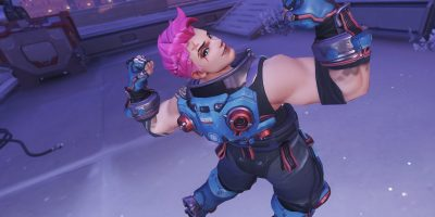 Overwatch Zarya Flex