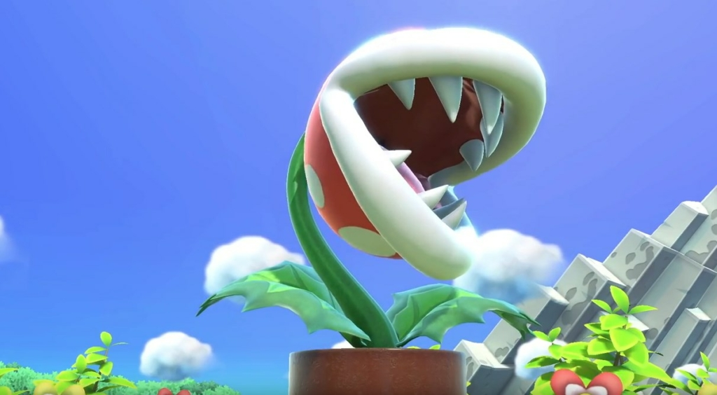 Piranha Plant Super Smash Bros Ultimate
