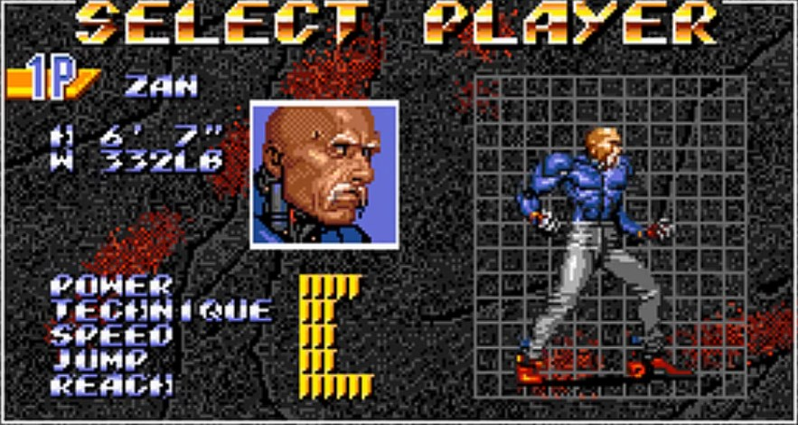 dr zan select streets of rage 3
