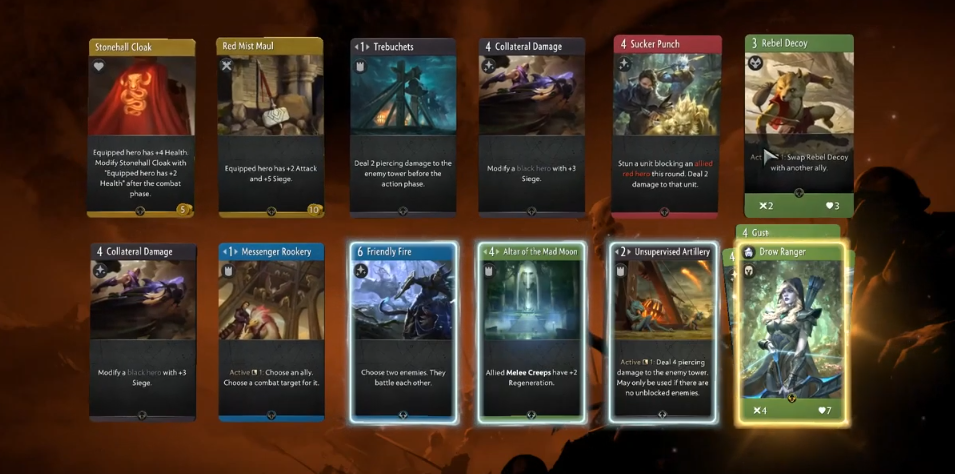 artifact open deck