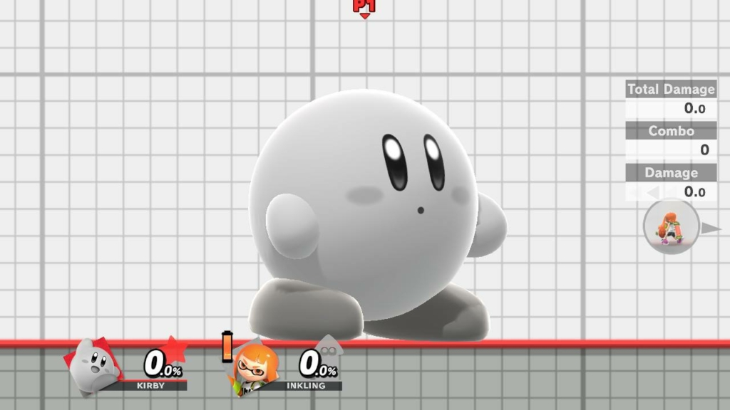 Kirby Black and White