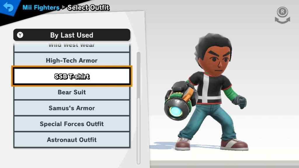 Mii Fighter Outfits