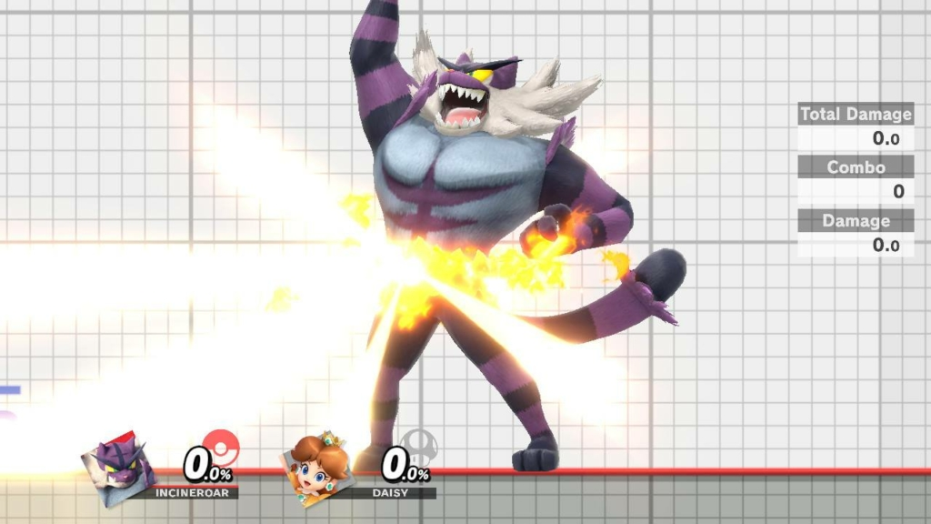 Incineroar Purple