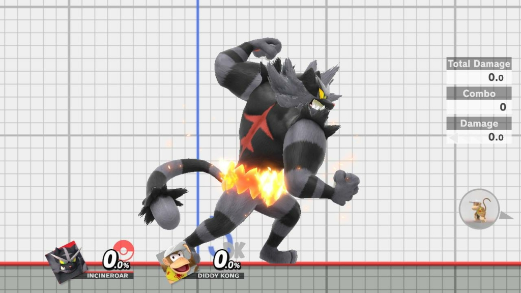 Incineroar Complete Black