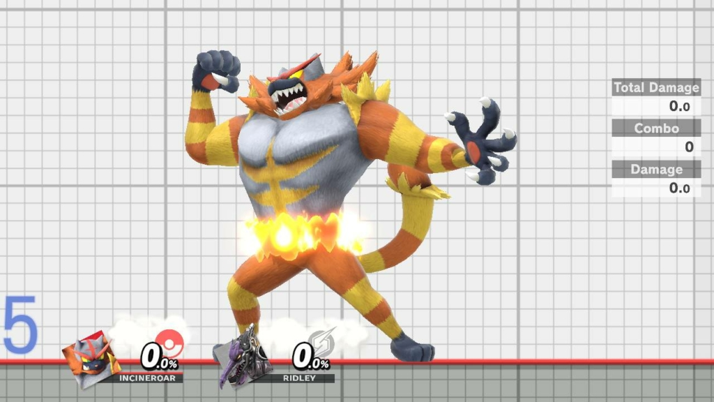 Incineroar Yellow