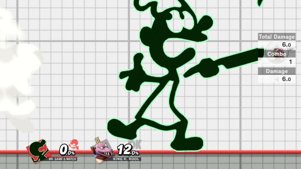 Game and Watch Black Highlight