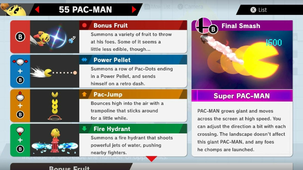 Pac Man Moves