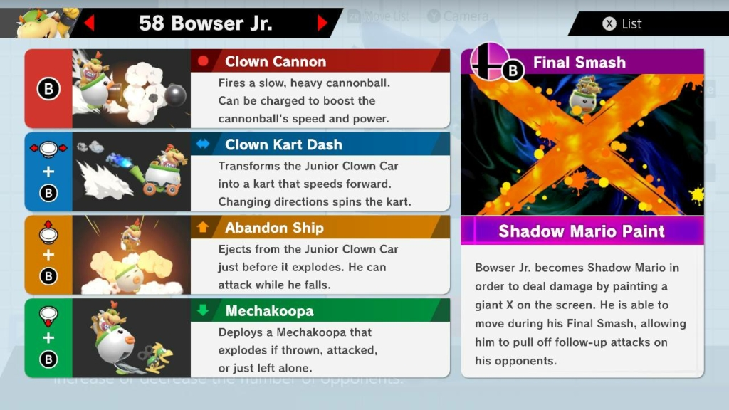 Smash Ultimate Bowser Jr Guide Moves Outfits More