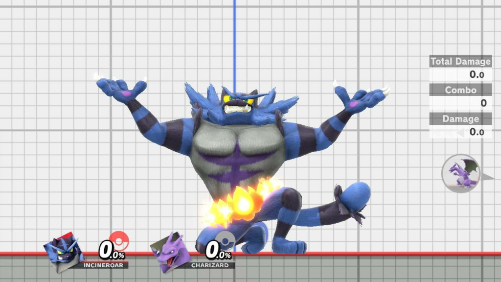 Incineroar Blue