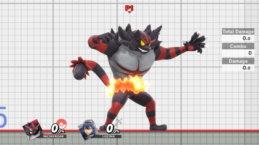 Incineroar Black