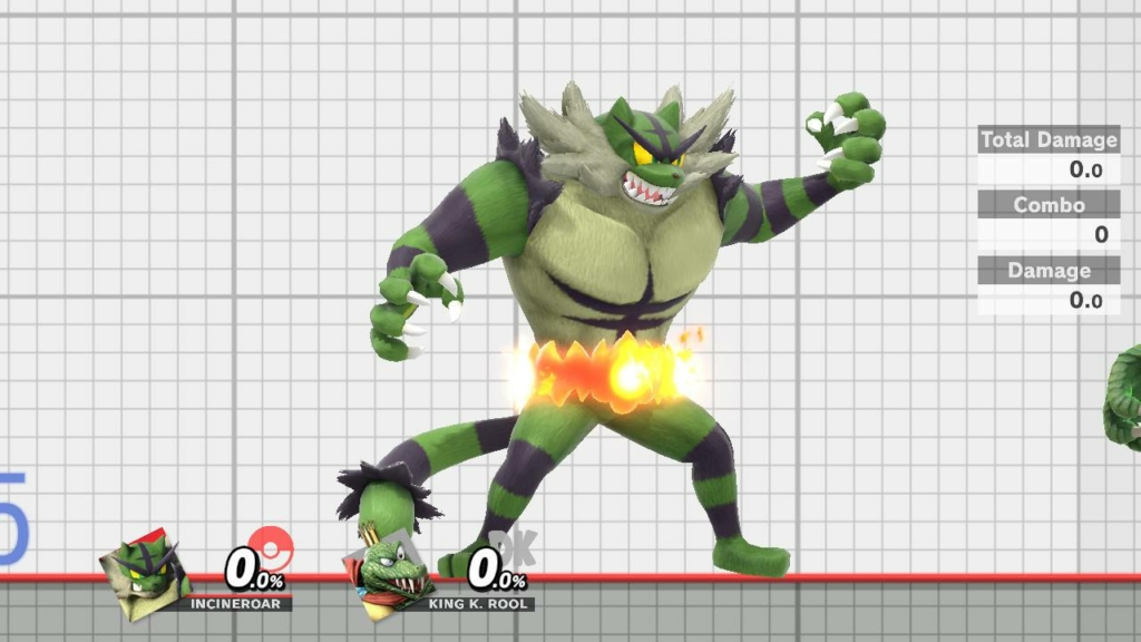 Incineroar Green