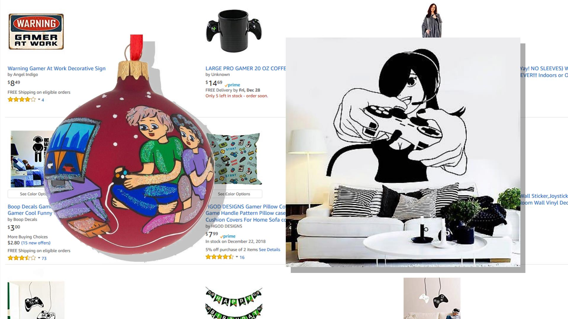10 More Awful 'Gamer' Gifts from Amazon