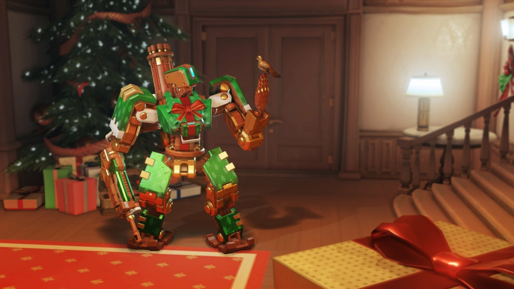 Gift Wrap Bastion Overwatch