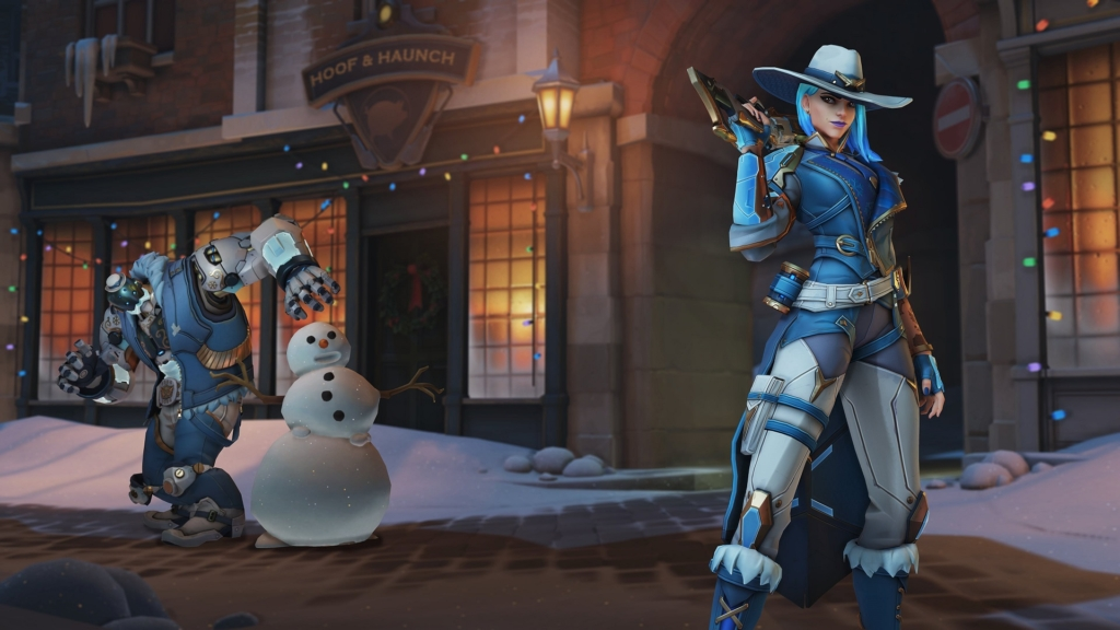 Winter Ashe Overwatch