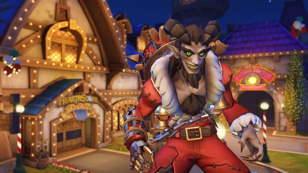 Krampus Junkrat Overwatch