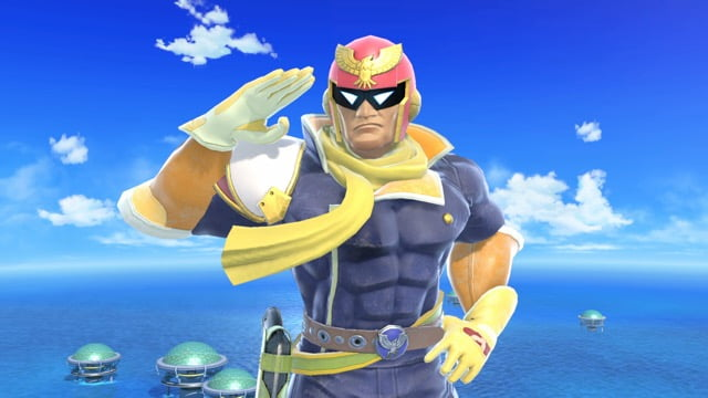 Smash Ultimate Falcon Taunt