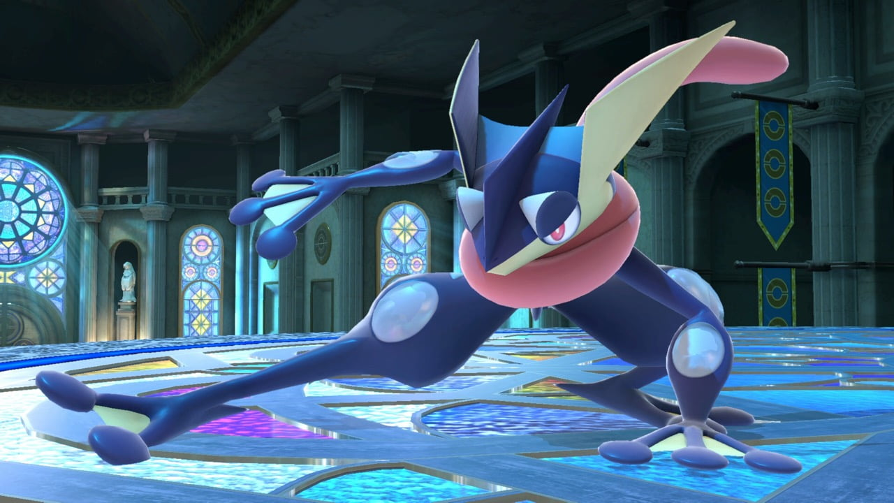 Smash Ultimate Greninja
