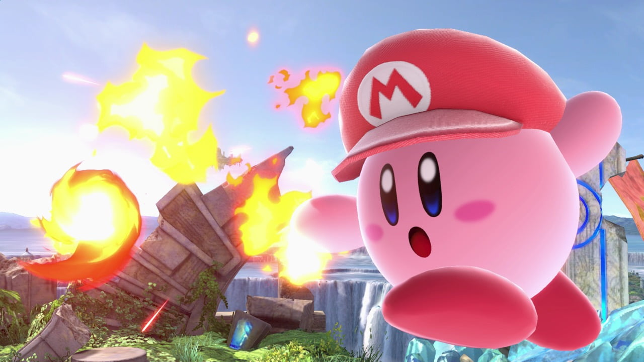 Smash Ultimate Kirby