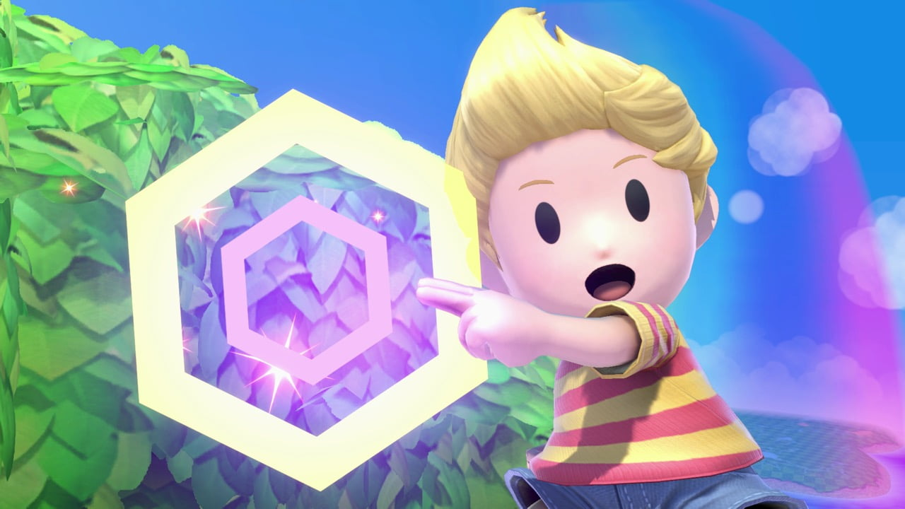 Smash Ultimate Lucas Posed