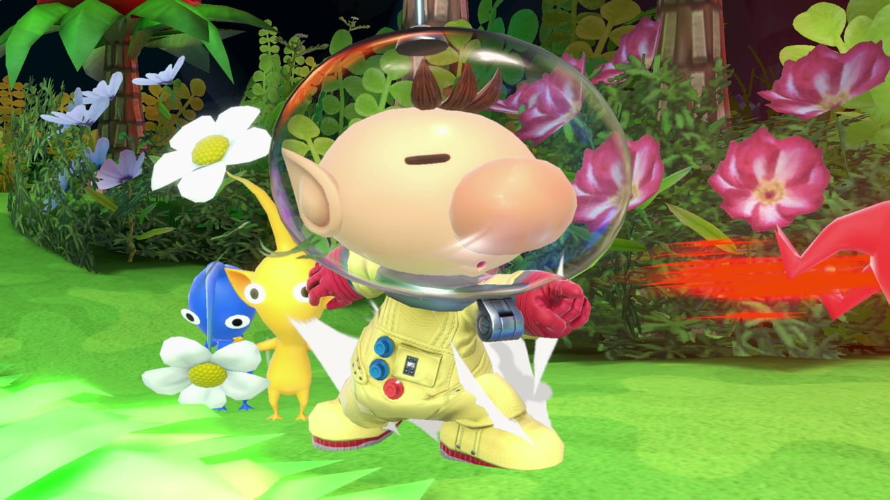 Smash Ultimate Olimar Posed