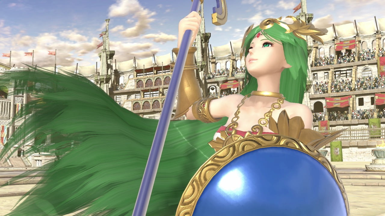 Smash Ultimate Palutena