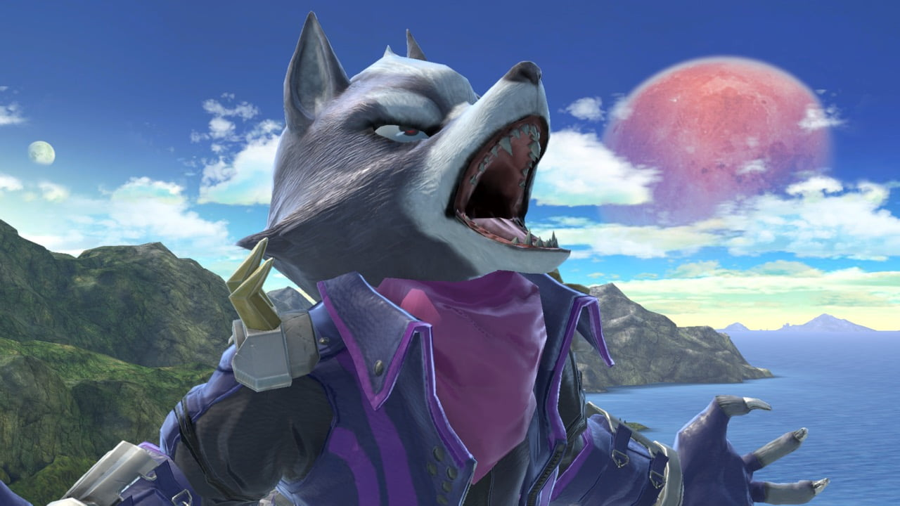 Smash Ultimate Wolf Posed