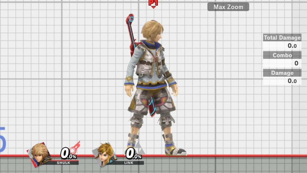 Shulk Smash Ultimate