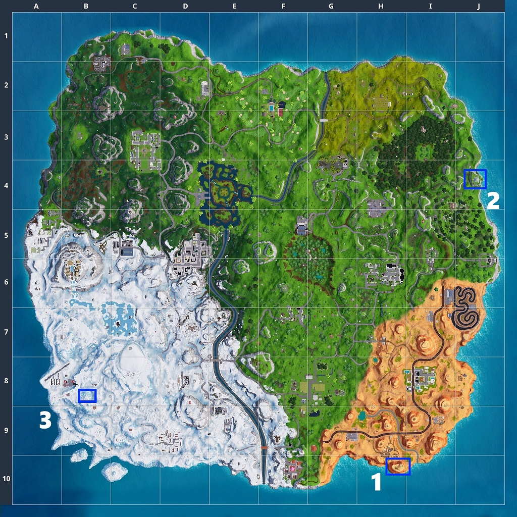 Season 7 Week One Challenges