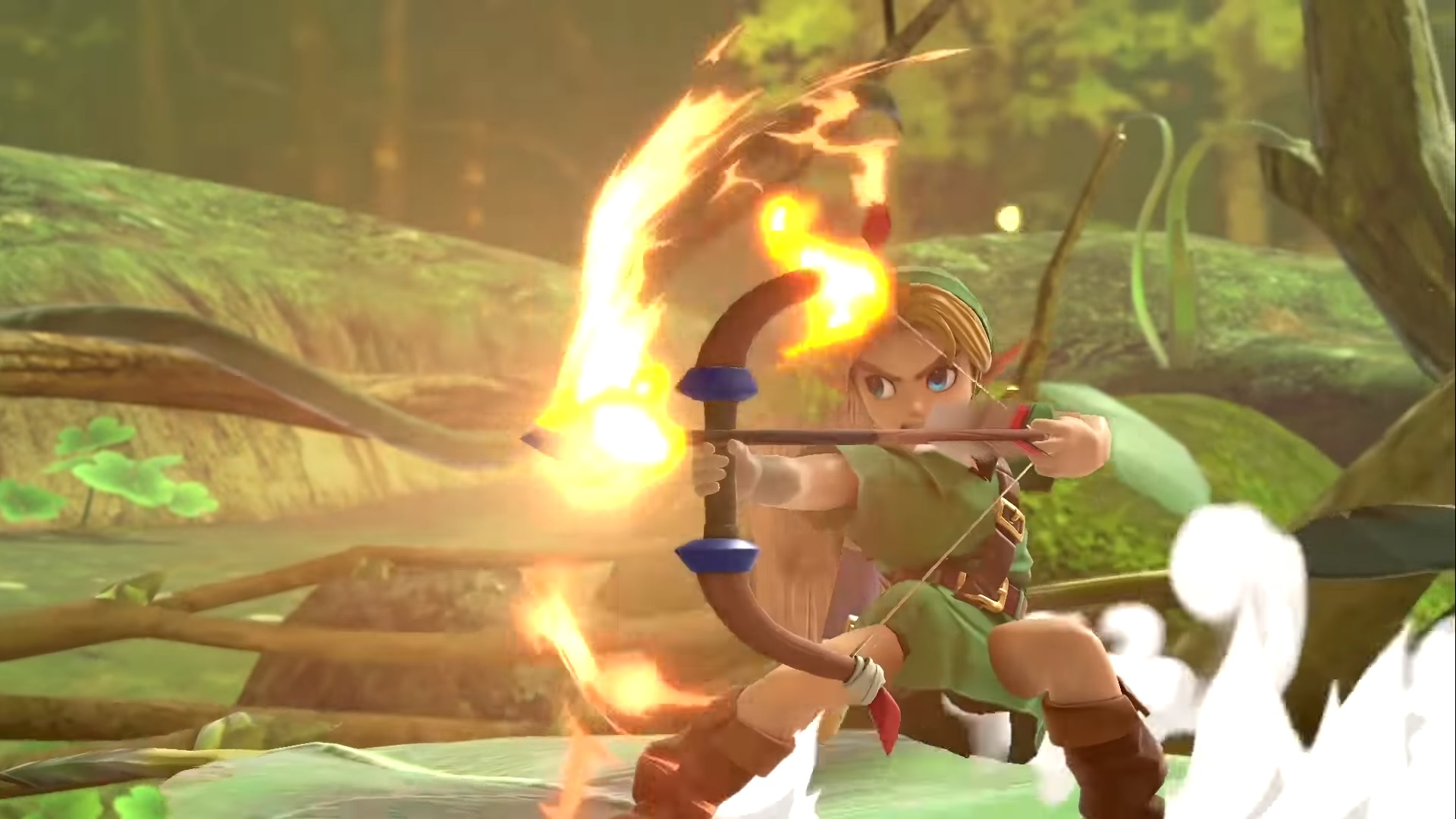 Smash Ultimate Young Link