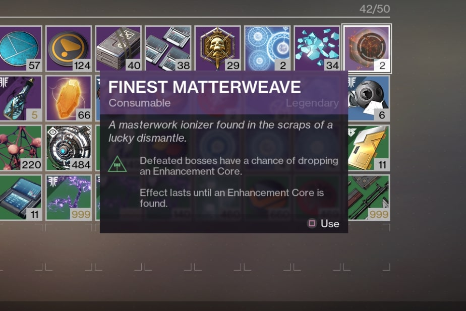 Destiny 2 Enhancement Core