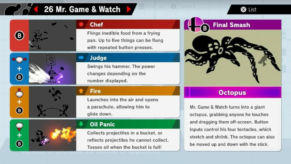 Smash Ultimate Game and Watch Guide – Moves, Outfits, & More