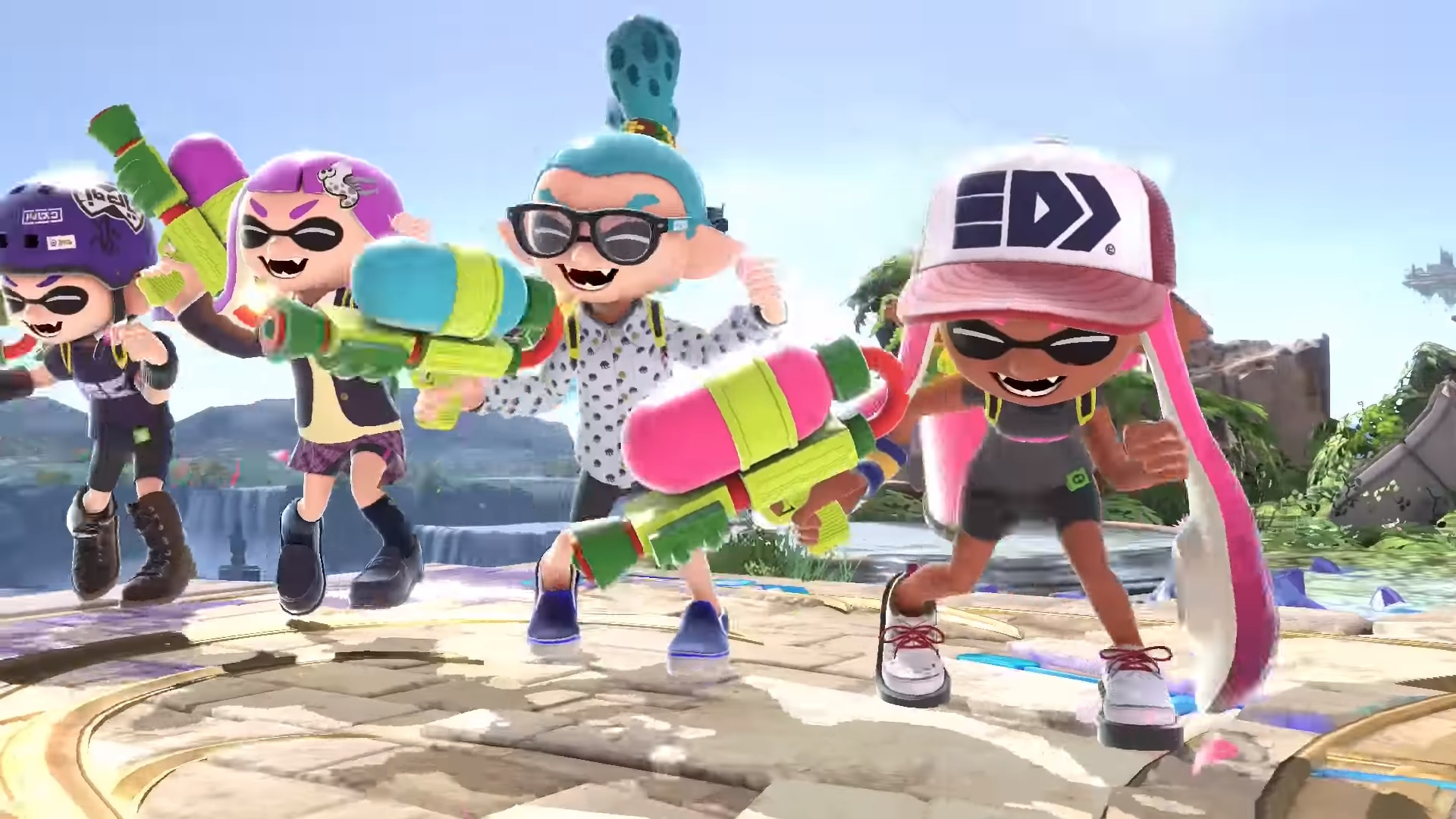 Smash Ultimate Inkling Guide – Moves, Outfits, Strengths