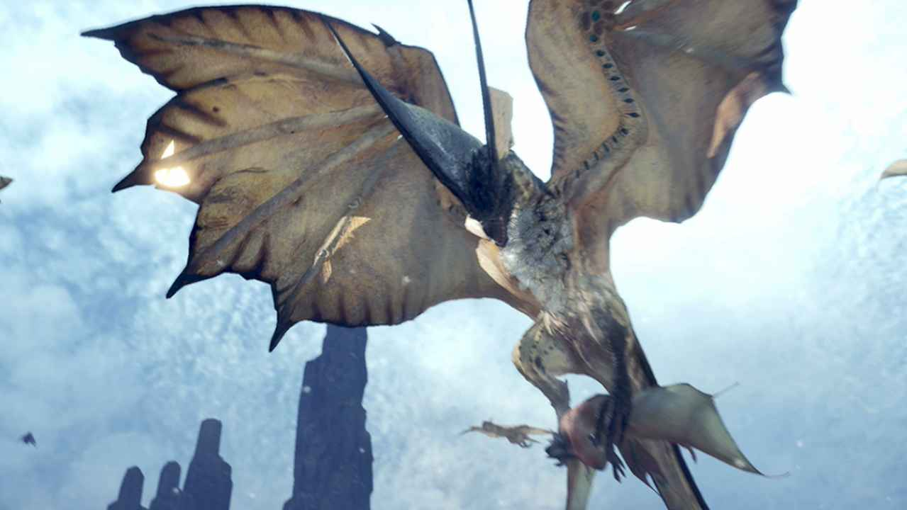 monster hunter world legiana