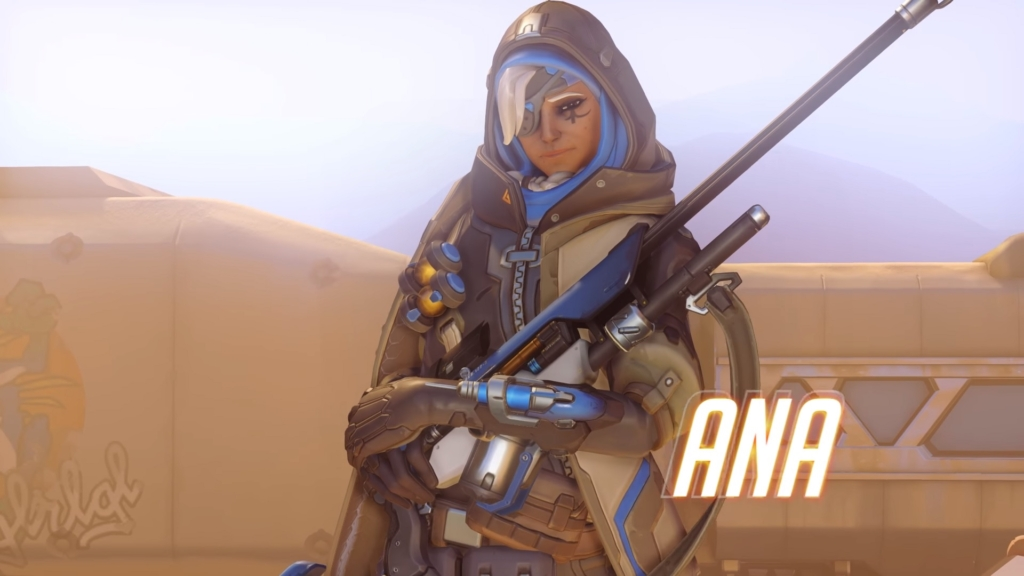 Overwatch Ana Gay