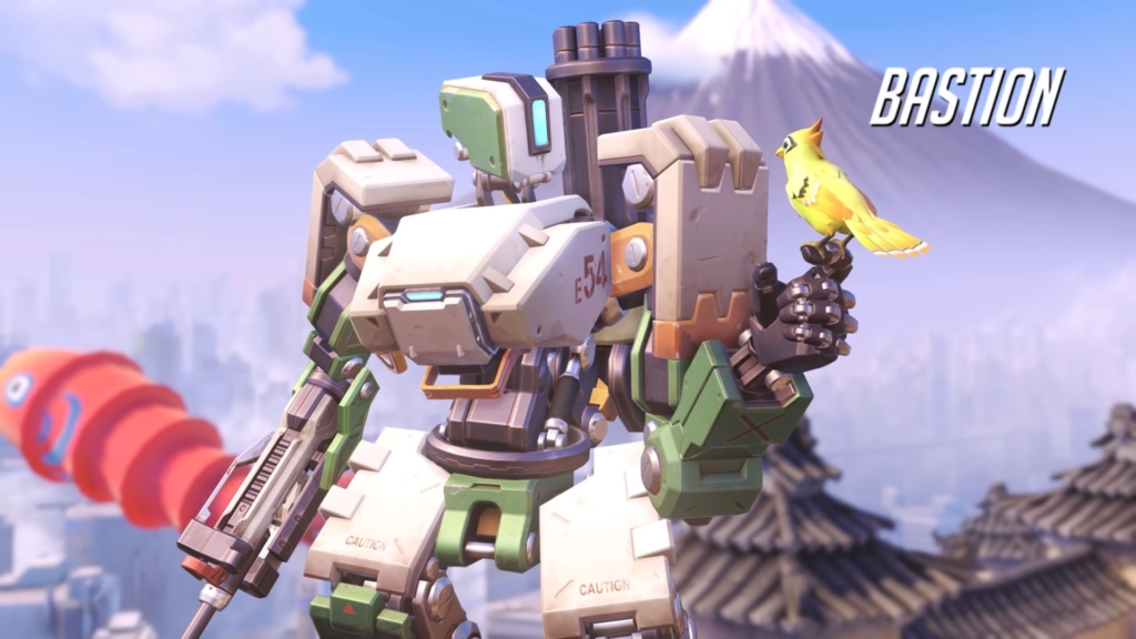 Overwatch Bastion Gay