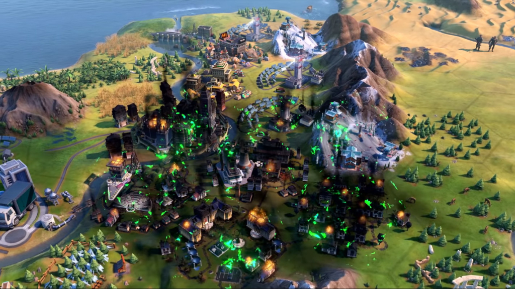 Civilization 6 Disasters Guide: Climate Change, Volcanoes