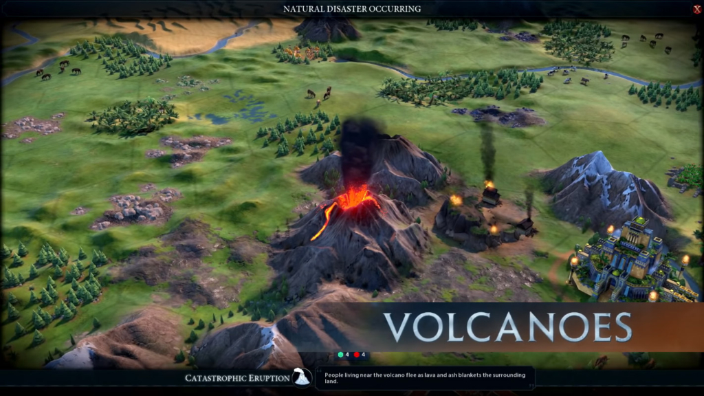 Civilization 6 Disasters Guide: Climate Change, Volcanoes, Droughts