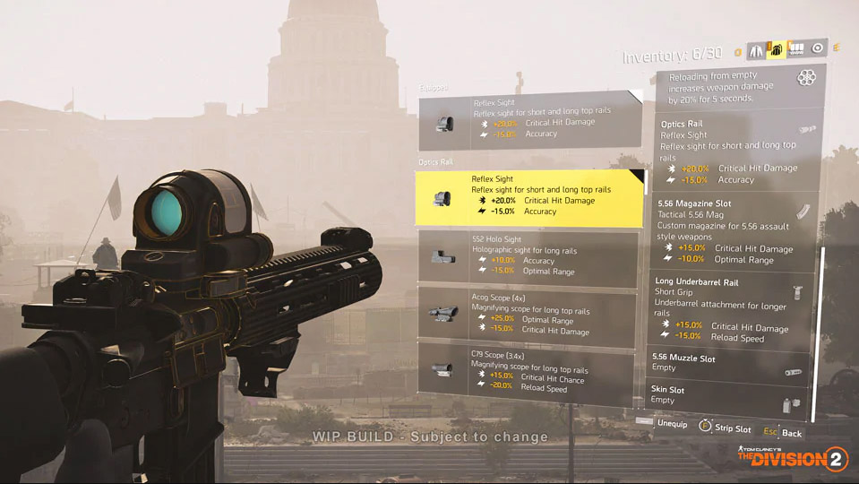 The Division 2 Mods Guide: How to Unlock Mods