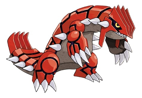 Groudon Pokemon Go