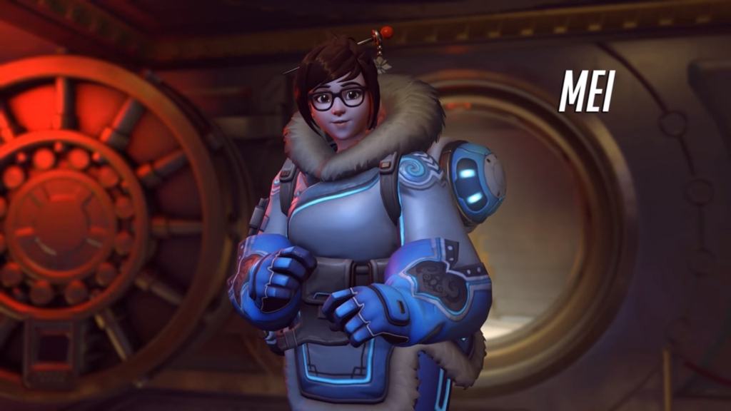 Overwatch Mei Gay