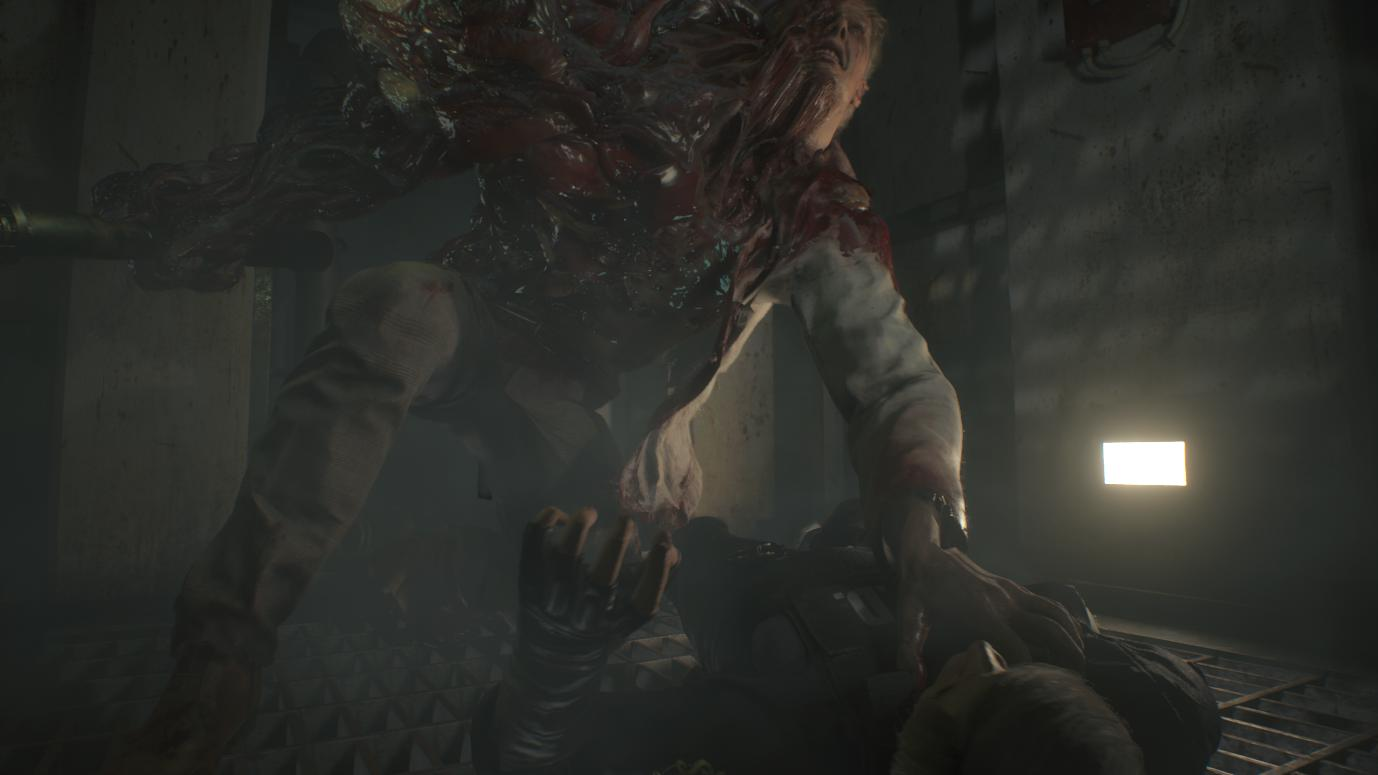 Resident Evil 2 G Guide How To Beat The First Boss Fight