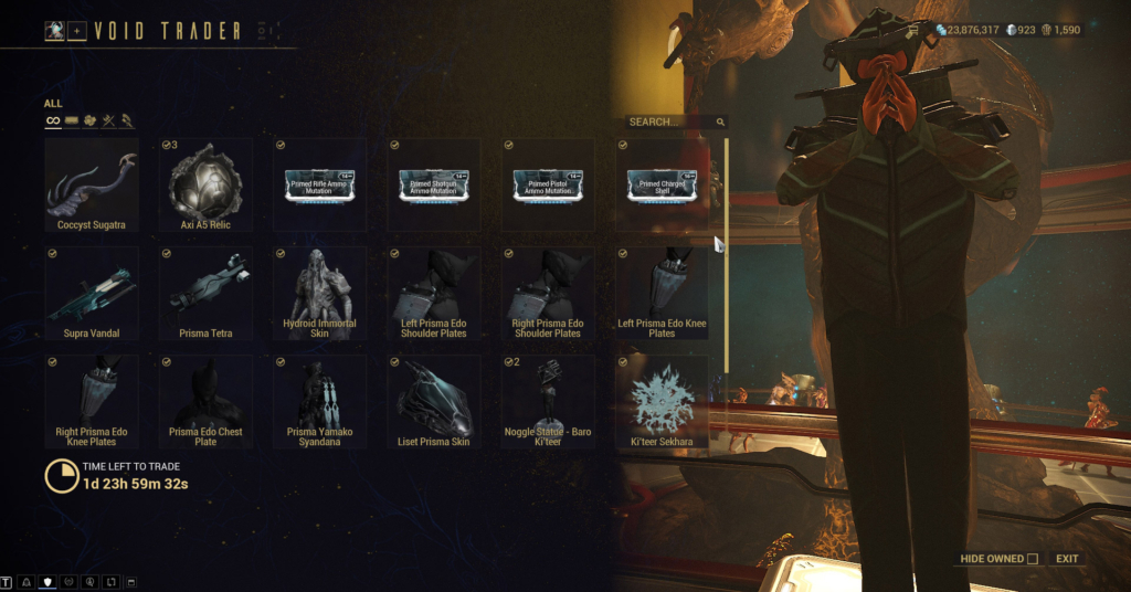Warframe Mods Guide: Prime Mods, Riven Mods, & All Mod Types