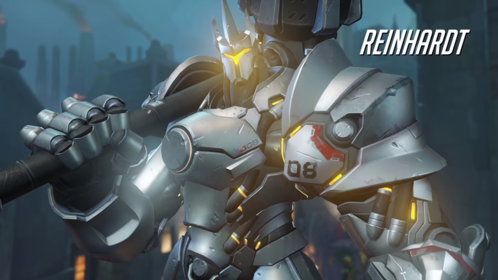 Overwatch Reinhardt Gay