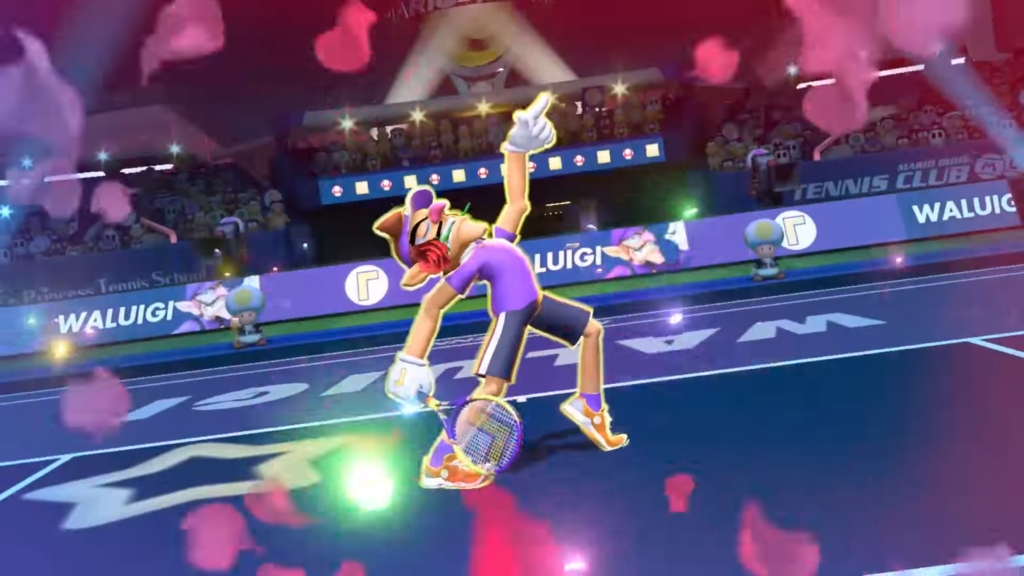 Waluigi in Smash